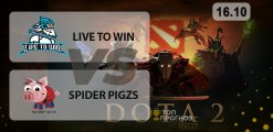 Live to Win — Spider pigzs: прогноз на матч 16.12.2020