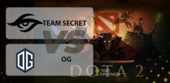Team Secret – OG: прогноз на игру 22 мая 2020