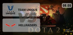 Team Unique — Hellraisers: прогноз на матч 08.05.2021